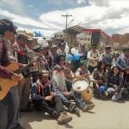 """""""Los Olvidados"""" beim Umzug in Potosí"""