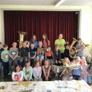 Instrumentenvorstellung in der Grundschule Leupolz