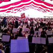 Fahneneinmarsch – Musikfest Primisweiler