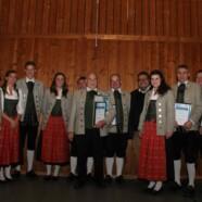 Ehrung für 70 Jahre in der Musikkapelle Leupolz