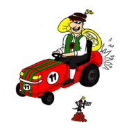 Teams des Rasenmähertraktorrennens stehen fest